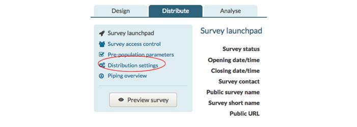 RYS-Screenshot-4-distribution-settings-option-on-survey-dashboard-for-Jisc-online-surveys.png